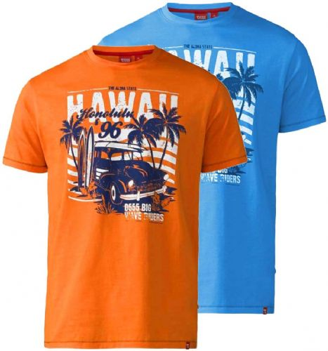 D555 HONOLULU SURF T SHIRT
